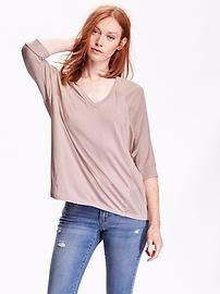 Women's Dolman-Sleeve Top