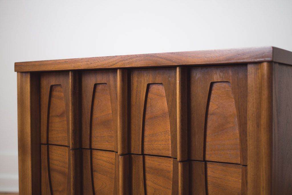 Mid Century Kent Coffey nightstand