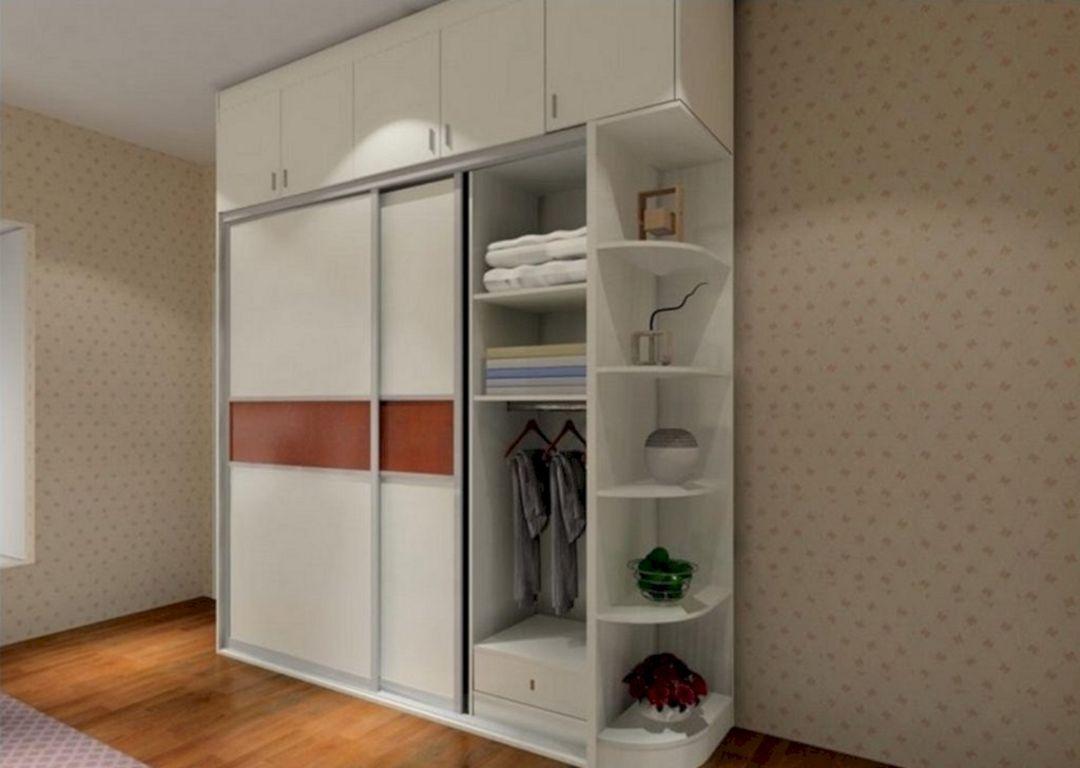 20 Fabulous Bedroom Cabinet Design That Look More Beautiful Teracee Bedroom Cabinets Cupboard Design Bedroom Storage Cabinets
