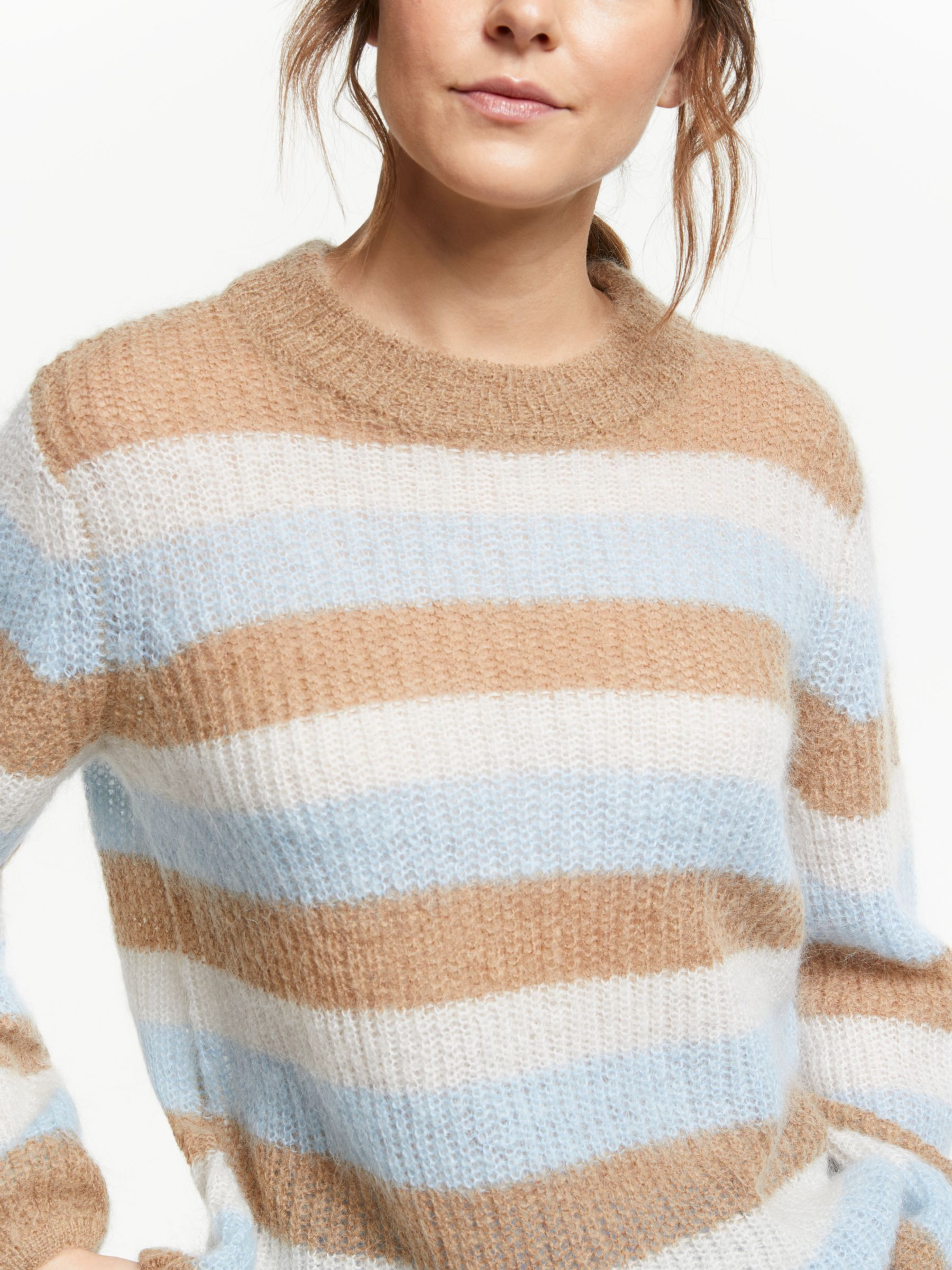 Womens Stripe Jumper Simply Be