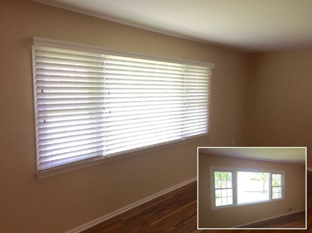 Asap Blinds Before And After Shots Of White Wood In