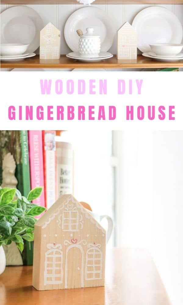 Decorate for Valentines with this Easy Wooden Gingerbread House Children's room