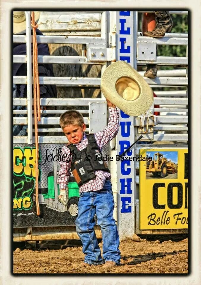 I'd say we have one pissed off lil' Cowboy at the Black Hills Round Up Rodeo in SD. by JodieB Photography (Jodie Baxendale)