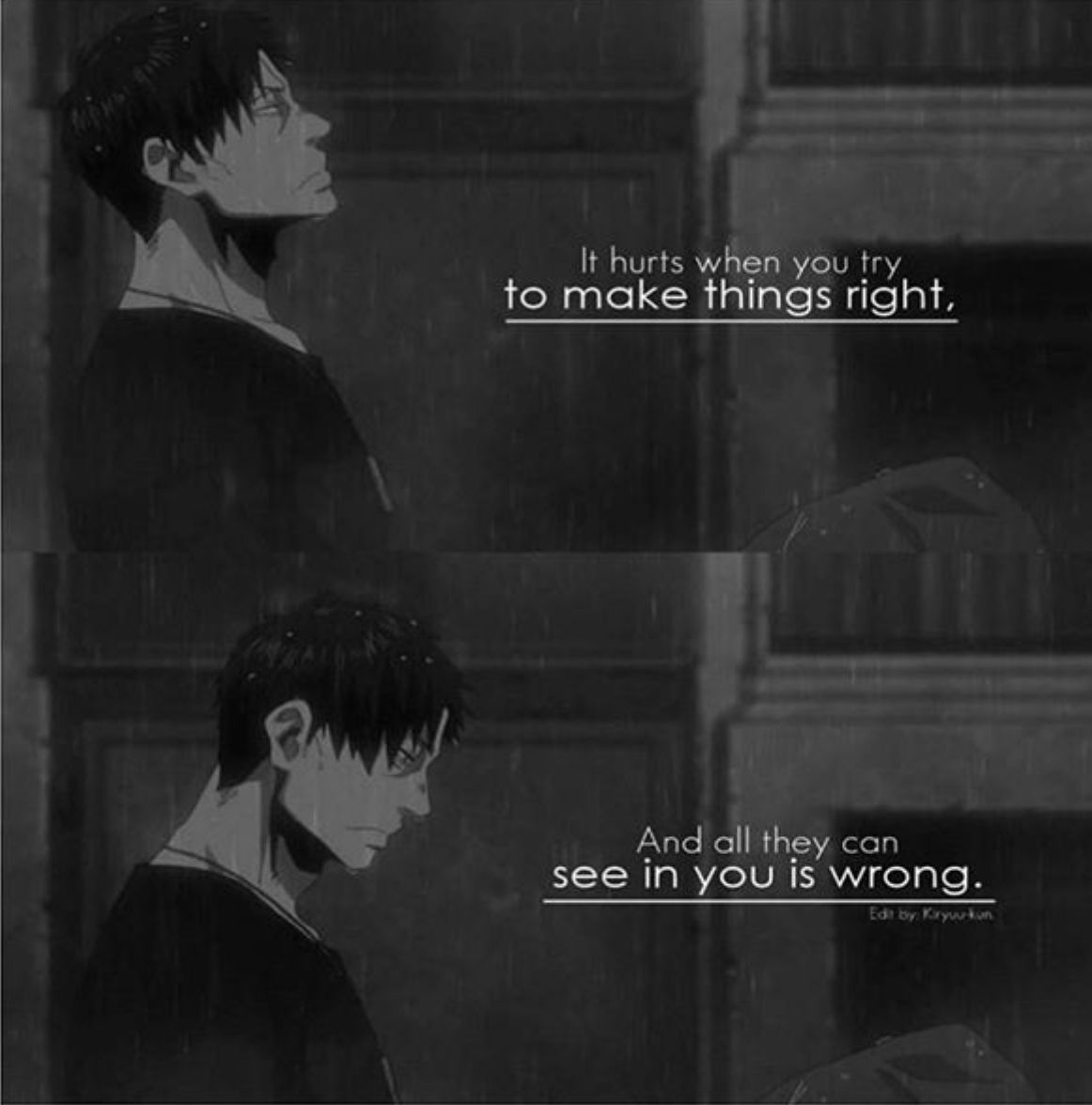 Anime Emo Quotes About Suicide: Anime Quotes