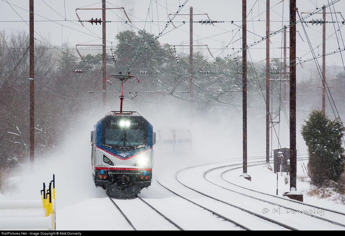 Photo AMTK 601 Amtrak Siemens ACS64 at