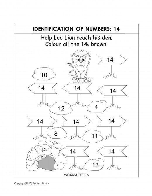 Number Recognition Worksheets Activities Carnet Maternelle