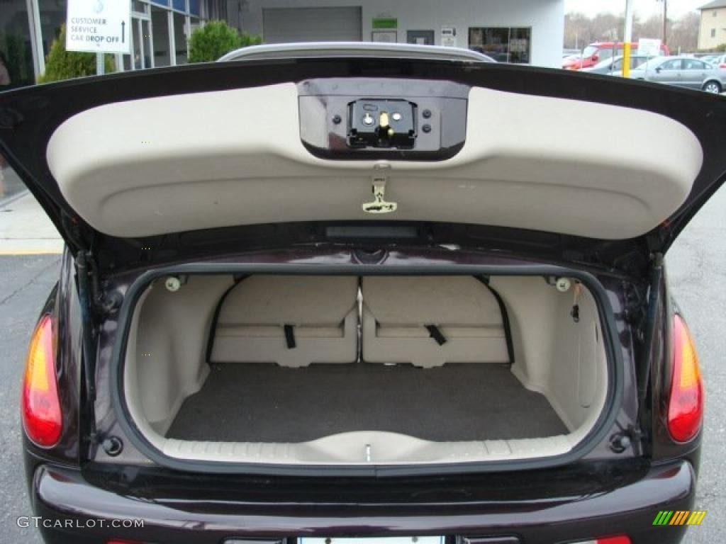 2005 Chrysler Pt Cruiser Dream Series 4 Convertible Trunk