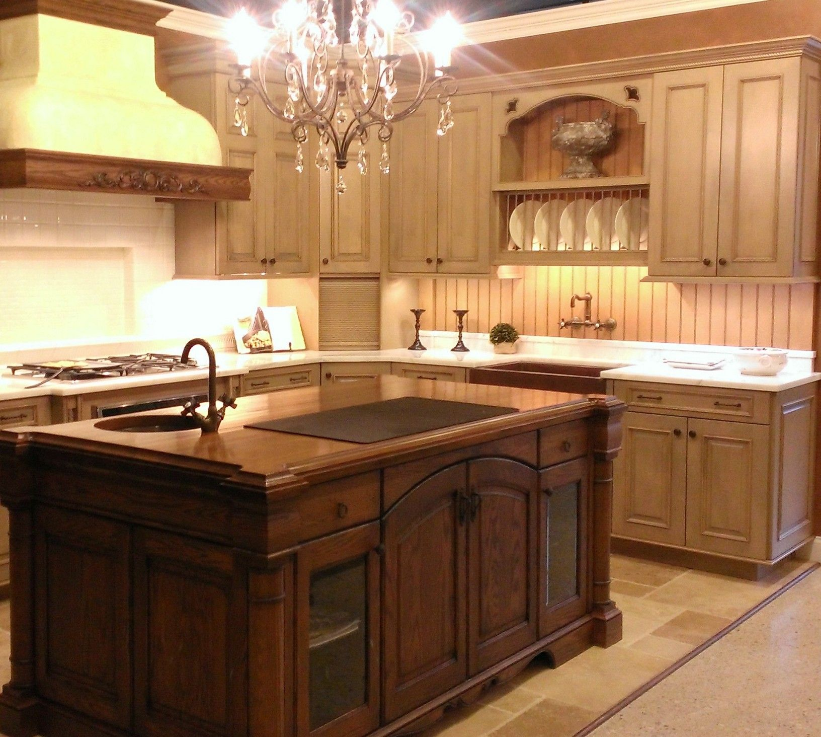 Rustic, Two Tone Kitchen Design | Kenwood Kitchens in ...