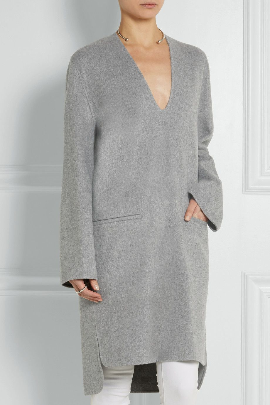 Acne Studios|Wool and cashmere-blend tunic