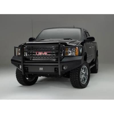 2011 Gmc Sierra 3500 Hd Fab Fours Grill Guard Elite Front Bumper