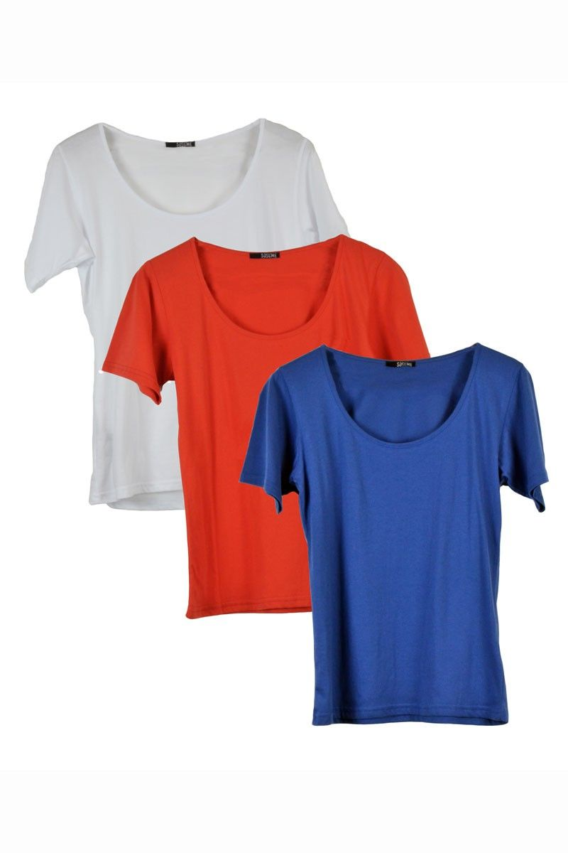 3 Pack #fairtrade shirts from Sosume