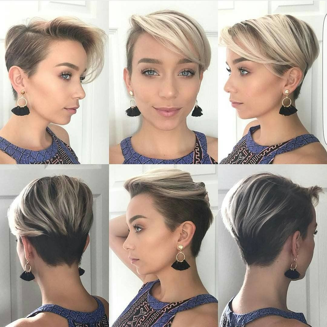 Amazing Chic long pixie hairstyles Fashion D favourite