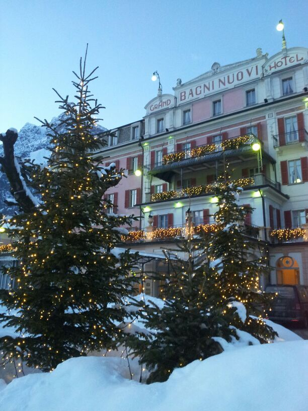 Grand Hotel Bagni Nuovi, Bormio, Italy. I would like to go back ...