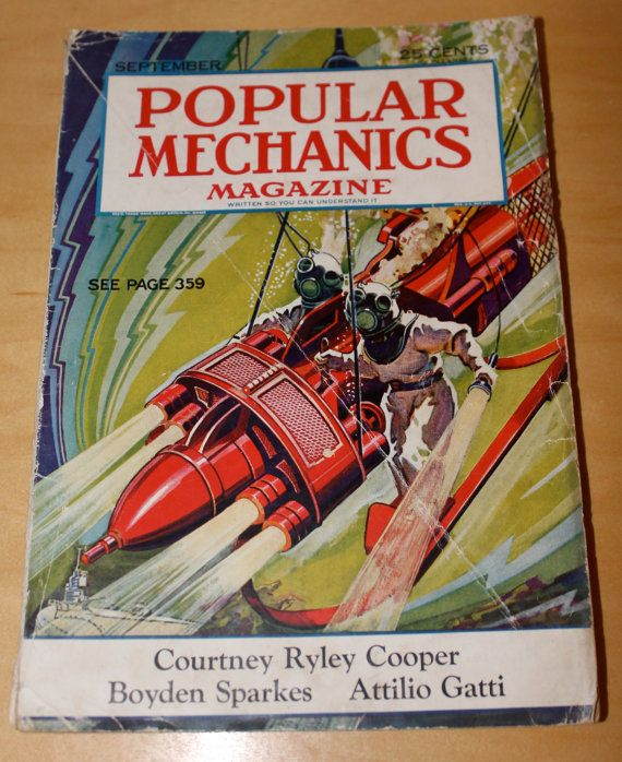 September 1932 Popular Mechanics features by WillmoreCityVintage