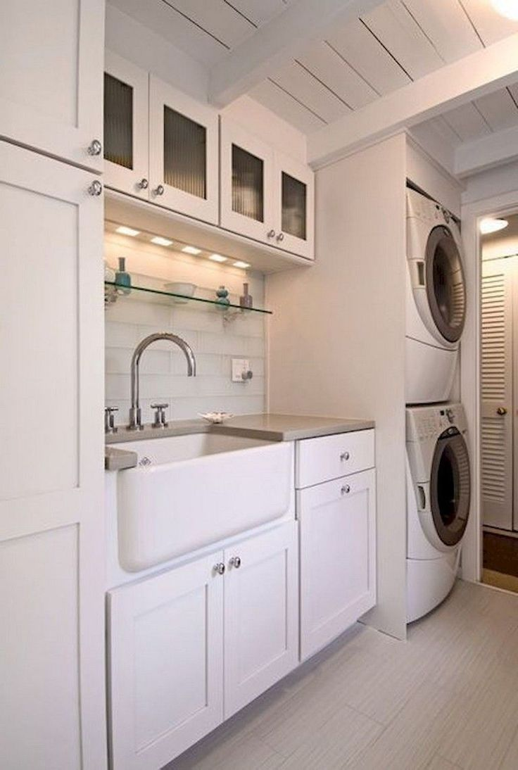 35 Fabulous Laundry Room Cabinet Design You Must Have -
