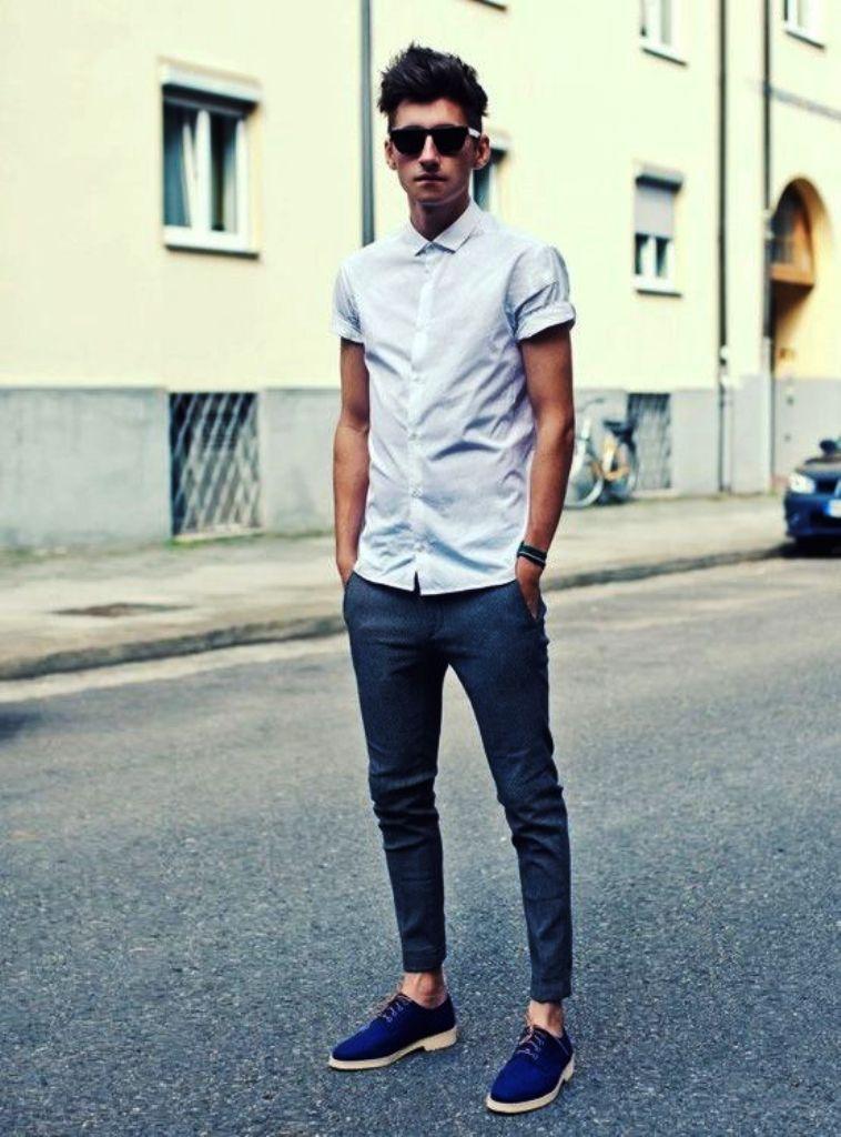European Street Fashion Men