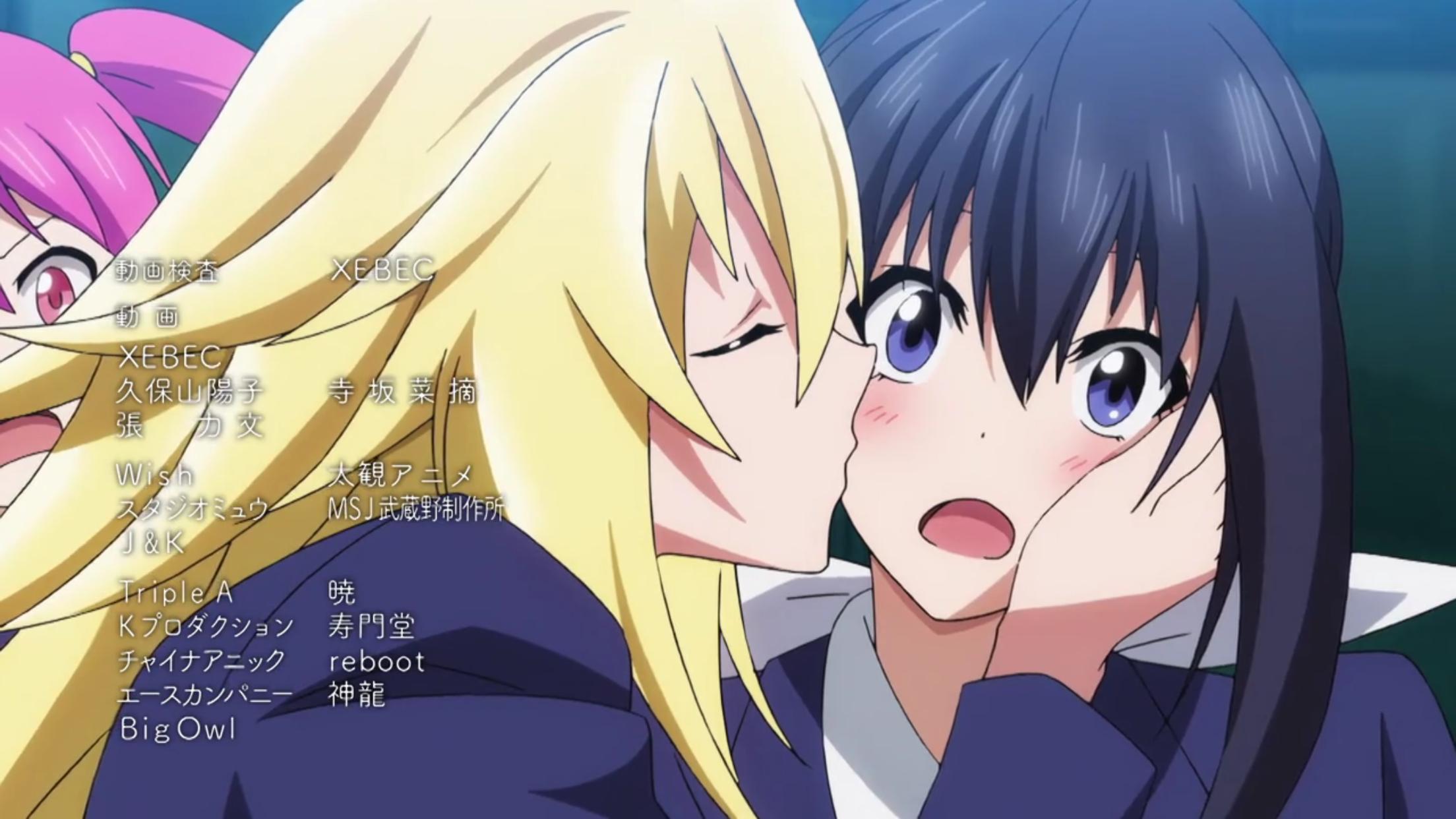 Keijo!!!!!!!! Episode 12 Mangas