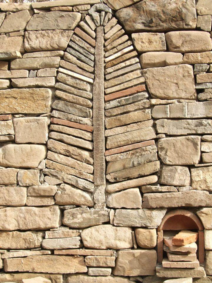 Подпорные стены мозаика