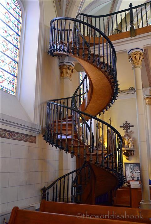 Best Miraculous Stairway Of Loretto Chapel Santa Fe Churches 400 x 300
