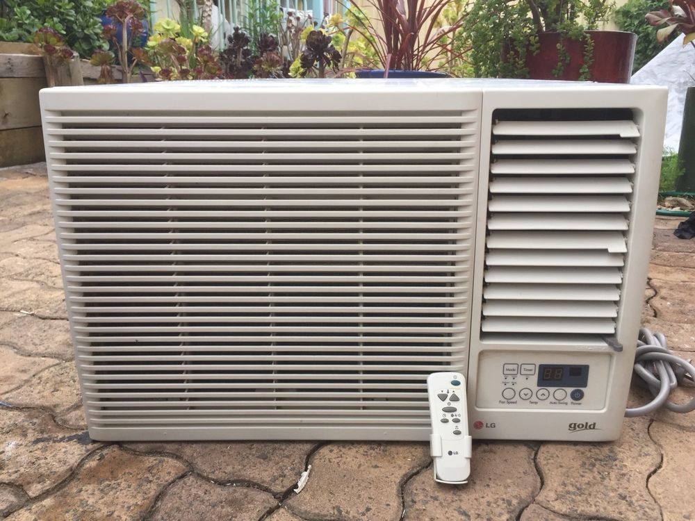 LG Window Box Reverse Cycle 5.6KW Air Conditioner With