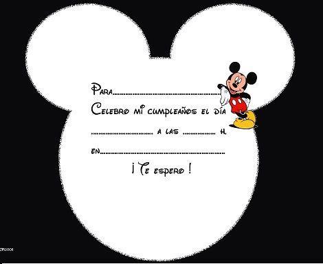 Texto Invitacion Minnie Mouse De Cumpleaños Infantil