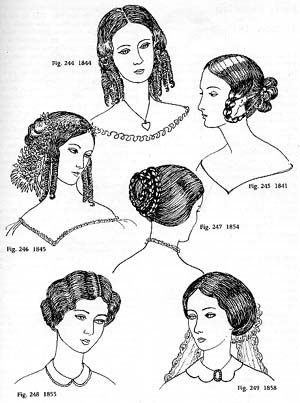 1850 hairstyles