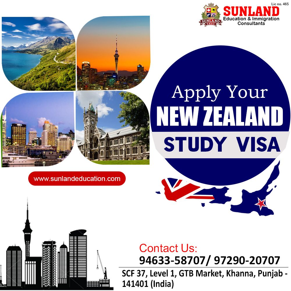️🇳🇿 How to Get Study Visa for New Zealand Requirements
