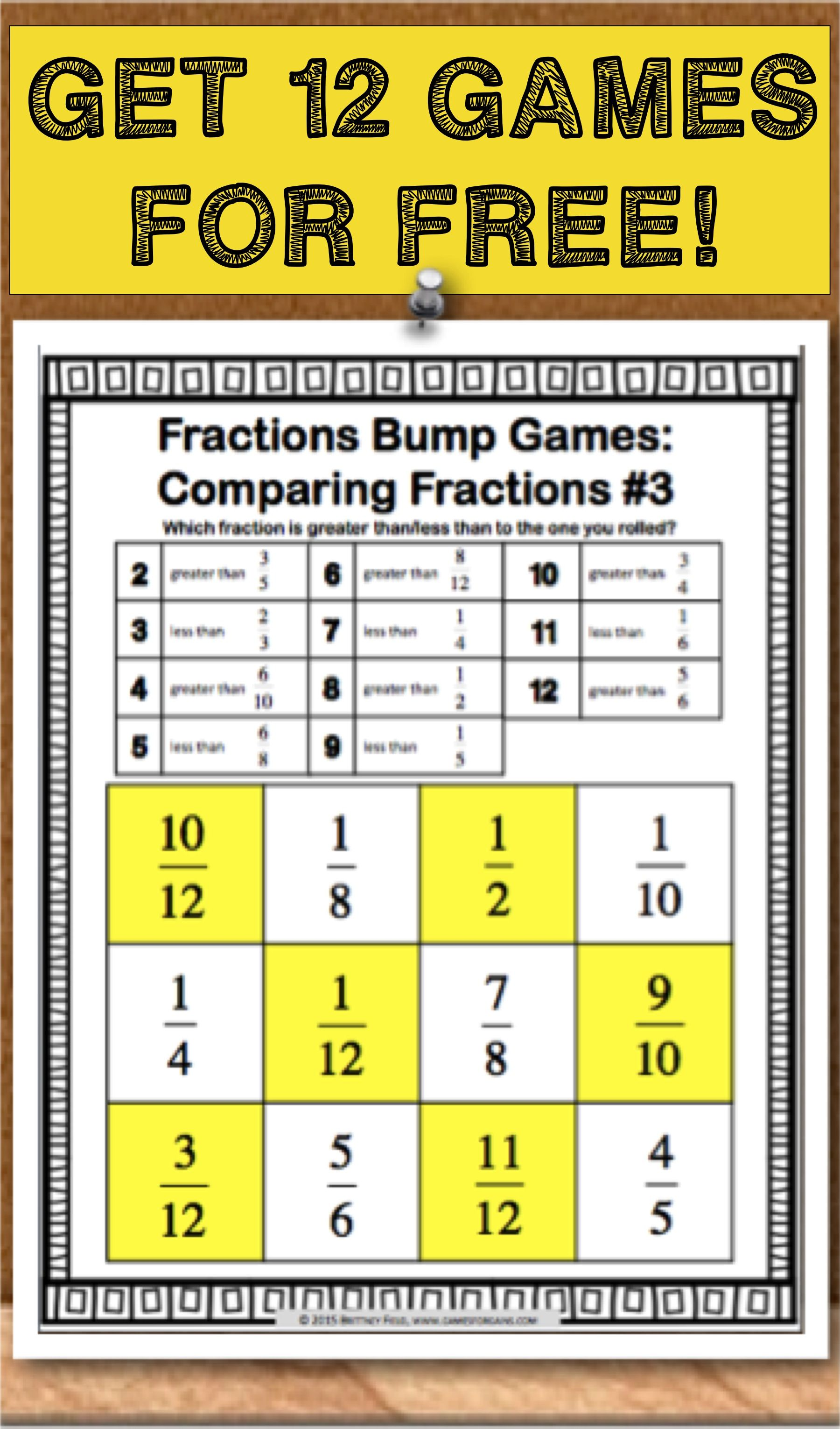 Get This And 11 Other Fraction Bumps Games As An Exclusive