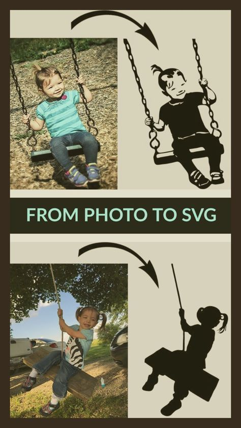 From Photo to SVG » Kabram Krafts #cricutcrafts