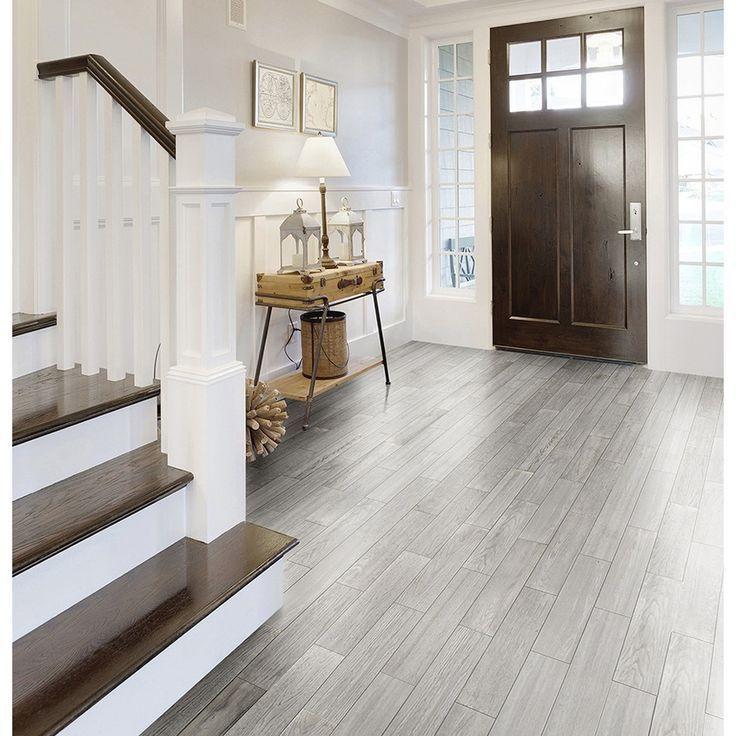 Image Result For Gray Laminate Dark Stairs Wood Look Tile Floor