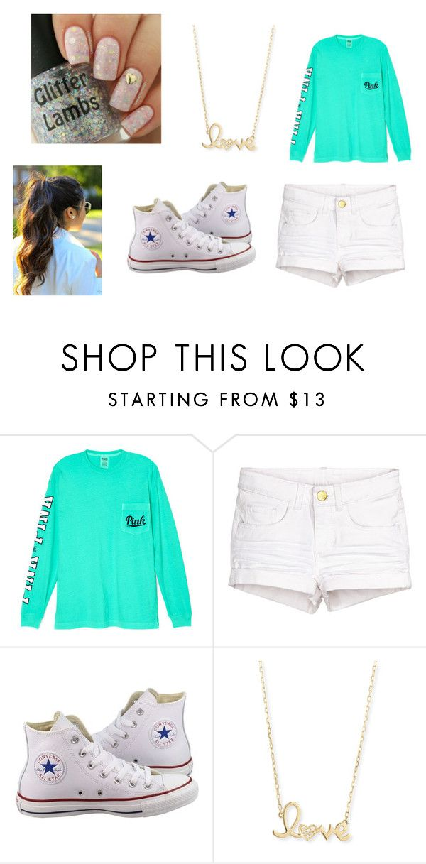 """""""TK Set"""" by nmcdonald2020 ❤ liked on Polyvore featuring beauty, Victoria's Secret, Converse and Sydney Evan"""