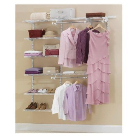 Rubbermaid 3h88 Configurations 3 To 6 Foot Deluxe Custom Closet