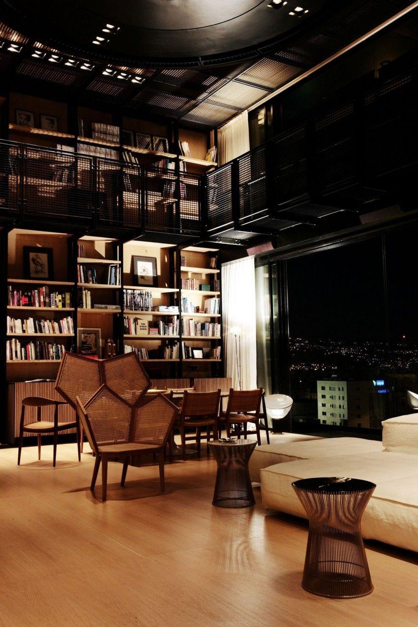 N.B.K. Residence (2) by DW5 Design Studio   Librerías, Estanterías y ...