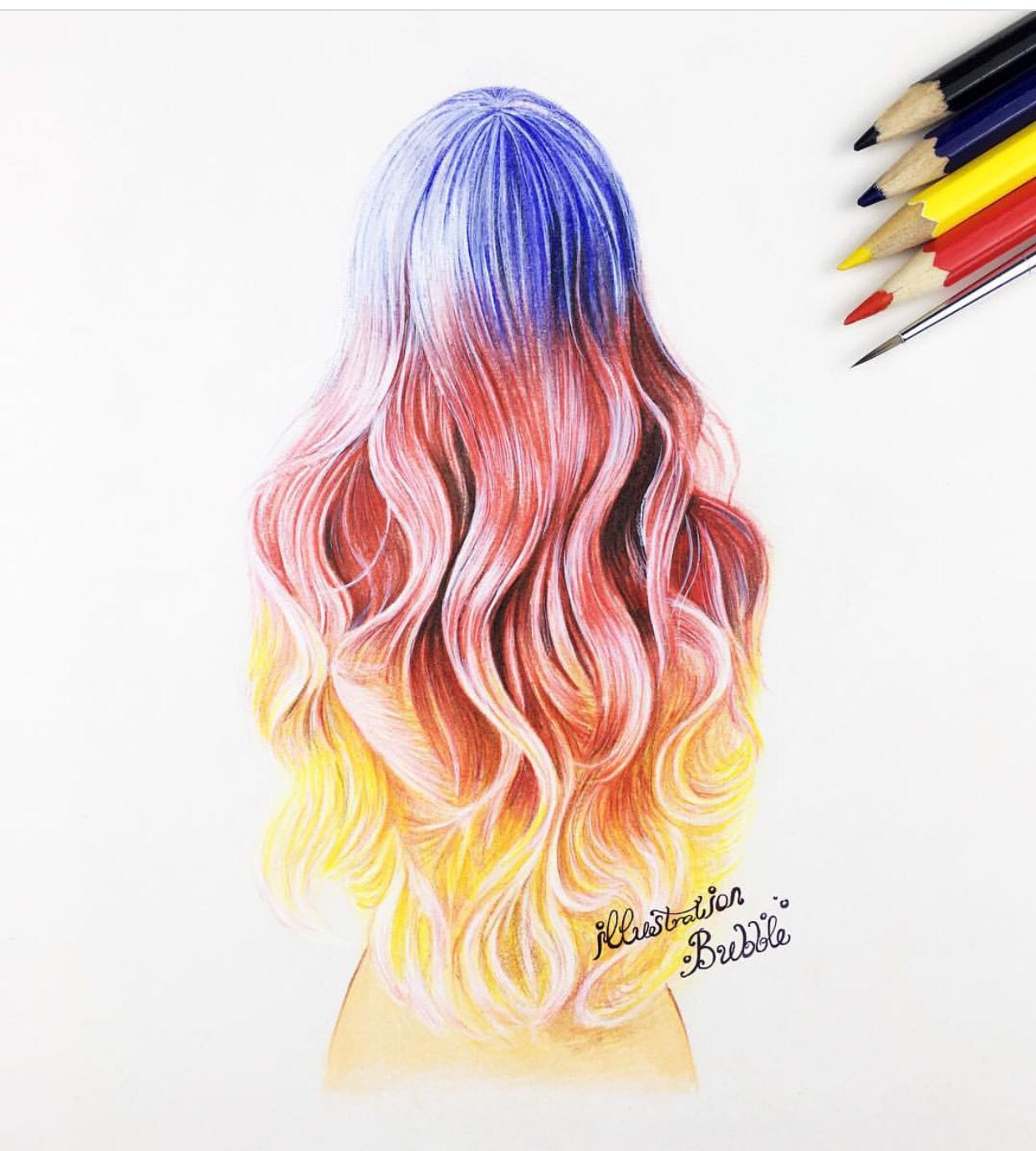Cool Hairstyle How To Draw Hair Drawings Cool Girl Drawings