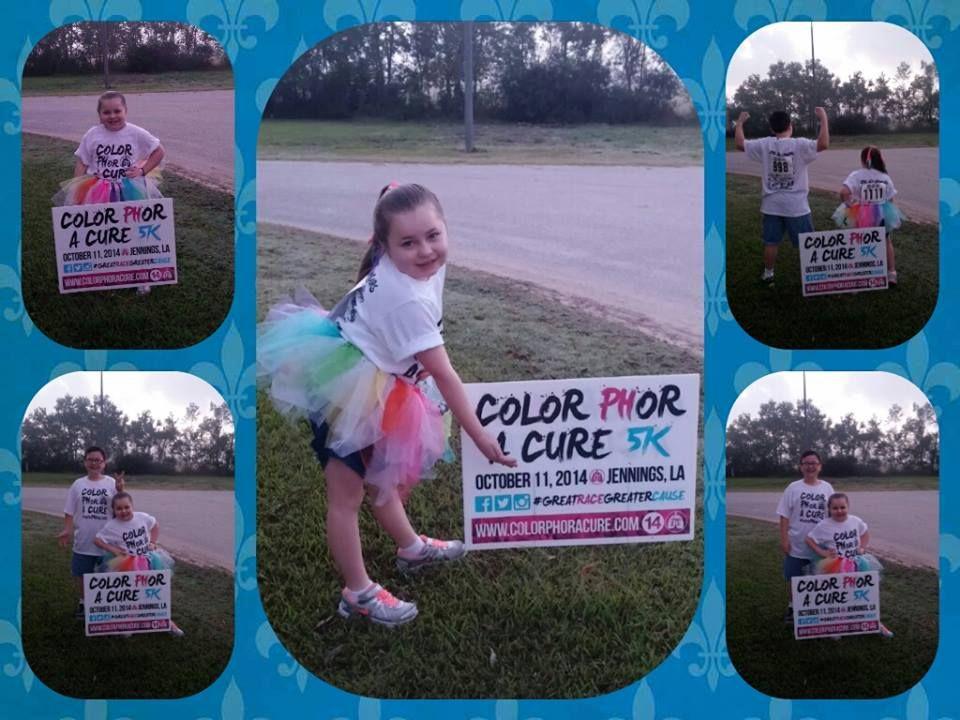 Go Team Kayleigh! Color PHor A Cure! Pulmonary Hypertension Fundraiser!!  #PHAware #ColorPHorACure
