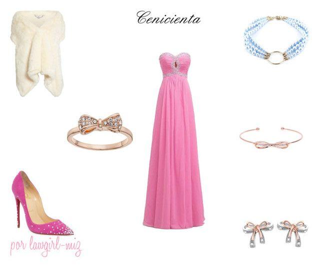 Cenicienta Vestido Rosa\
