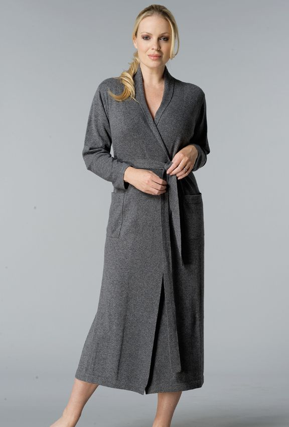 Cashmere dressing gown from Laurence Tavernier... | 9 years of Pink ...