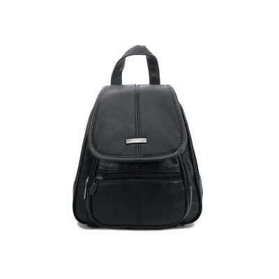 Photo of LITTLE WOMEN REAL LEATHER City BACKPACK Shoulder Bag Backpack Leather Backpack Bag …