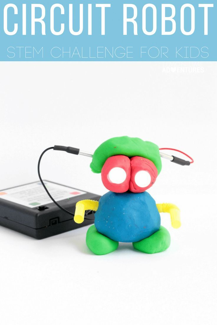 squishy circuit robot electrical engineering design challenge rh pinterest com