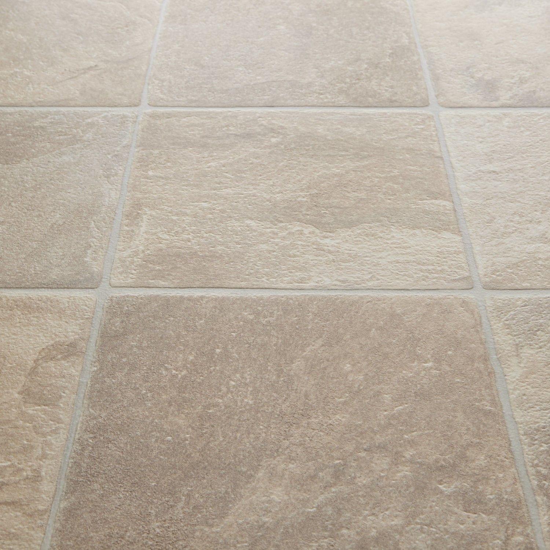 Rhino+Classic+Grege+Granite+Tile+Vinyl+Flooring