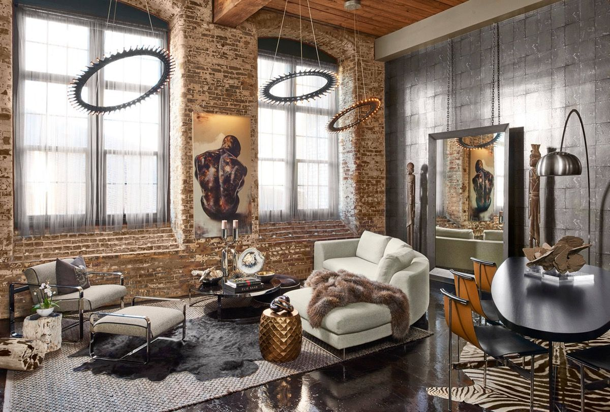 10 Industrial Living Room Ideas 2020 As New Choices Industrial