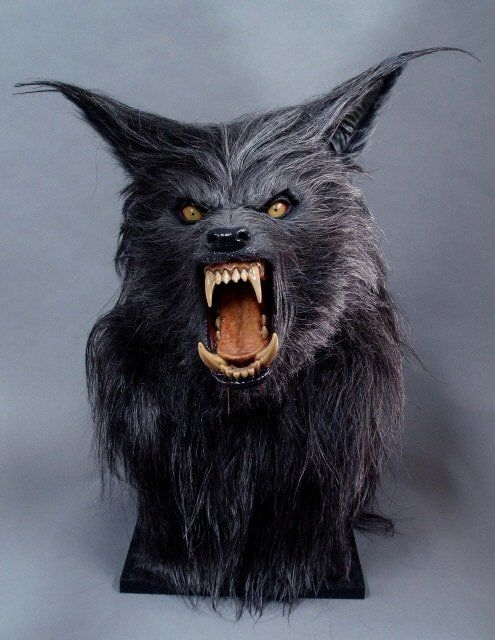 FULLSIZE HOWLING WEREWOLF HEAD Halloween Decoration | Horror in 2019