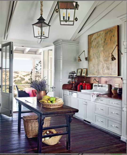 Floor To Ceiling Kitchen Units: No Upper Cabinets And Side Floor To