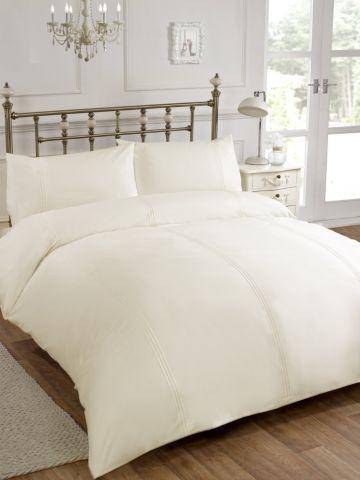 Tesco Direct King Cream Penelope Designer Duvet Cover And Pillow Case Bedding Set