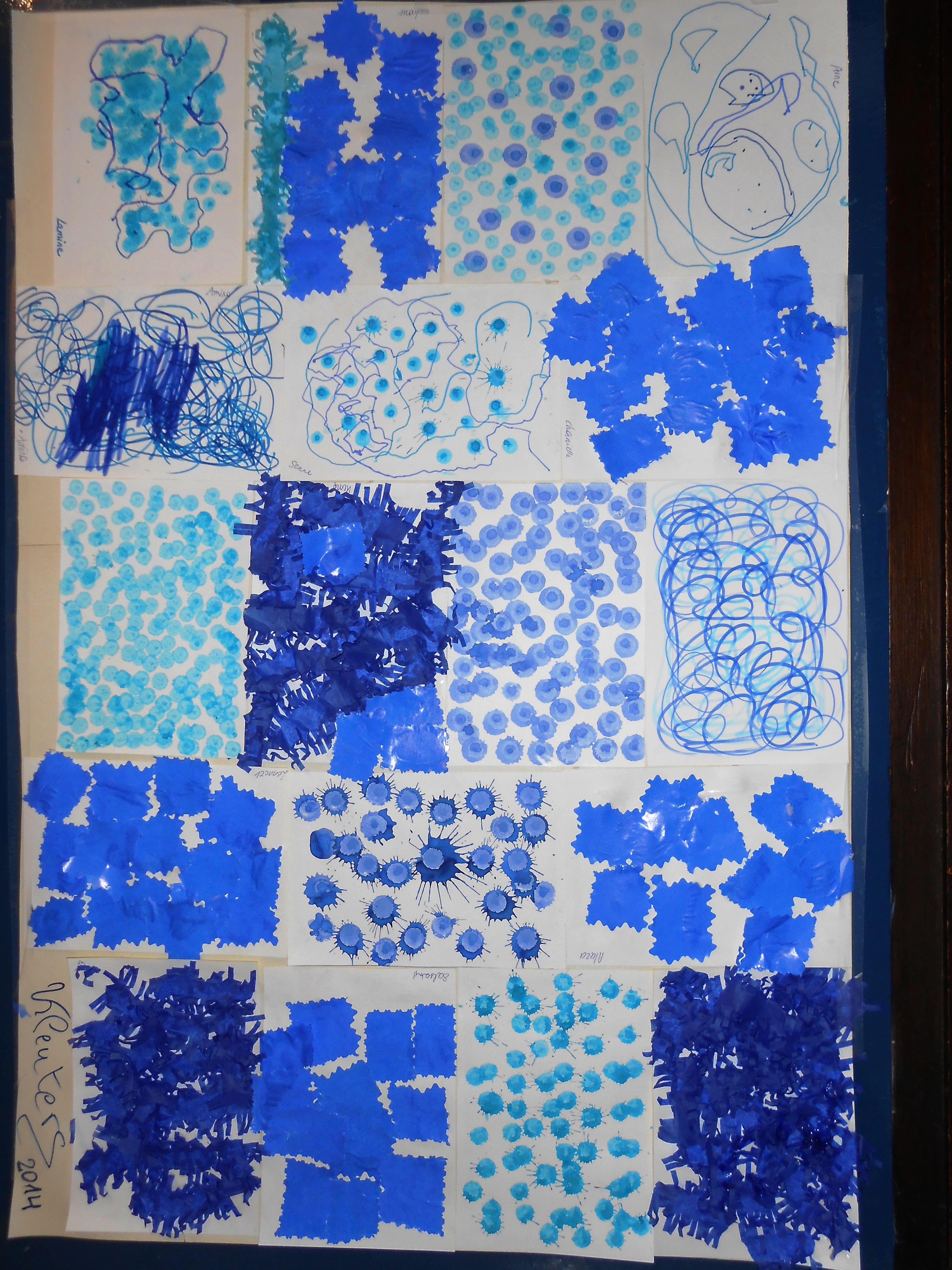Tinten Blauw