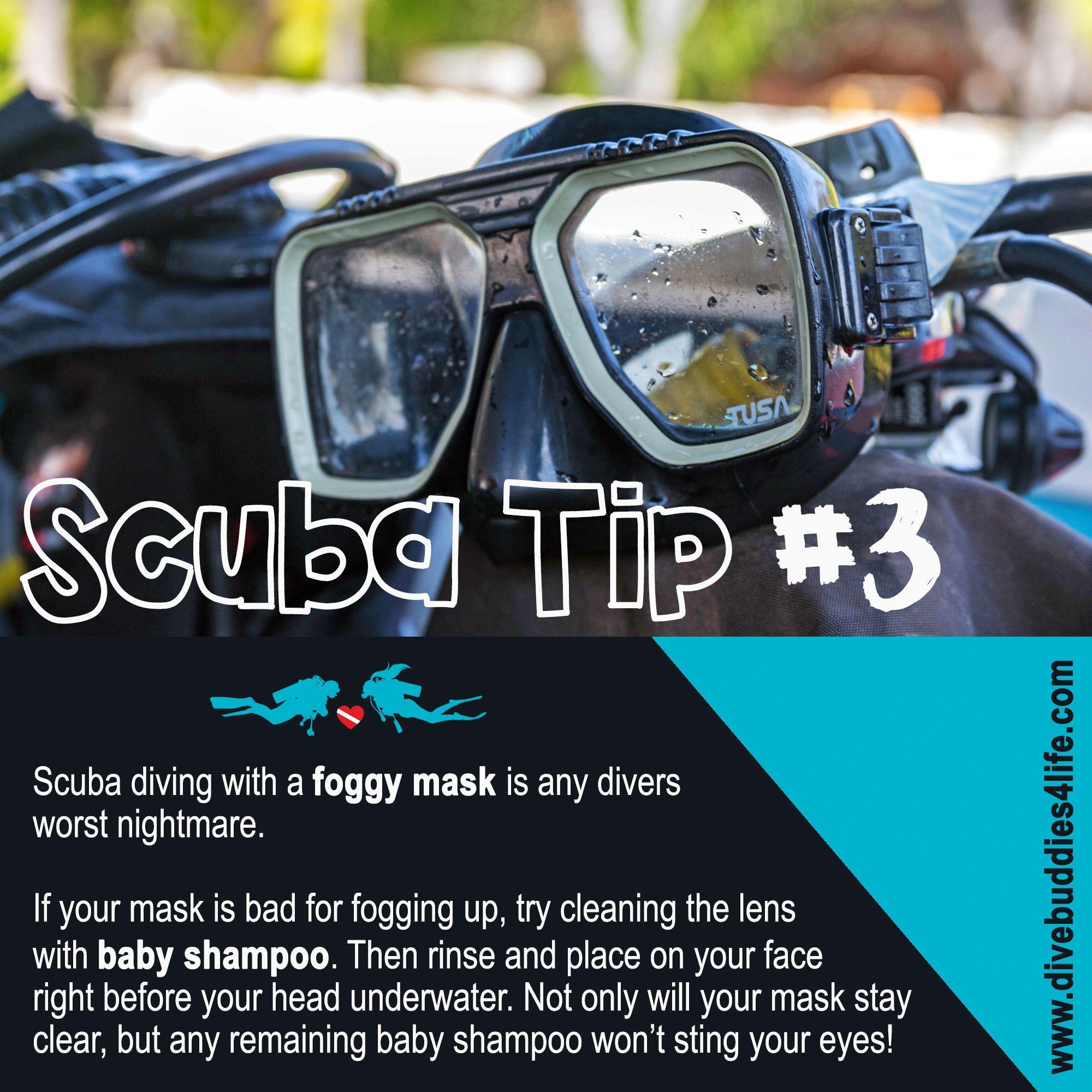Scuba Tip 3 Baby Shampoo Scuba Scuba Diver