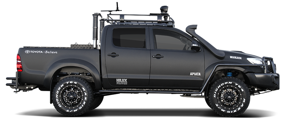 new zealand toyota reveal special edition hilux for hunter. Black Bedroom Furniture Sets. Home Design Ideas