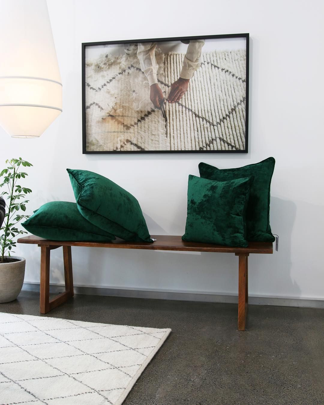 A Quiet Corner In Our Parnell Showroom.
