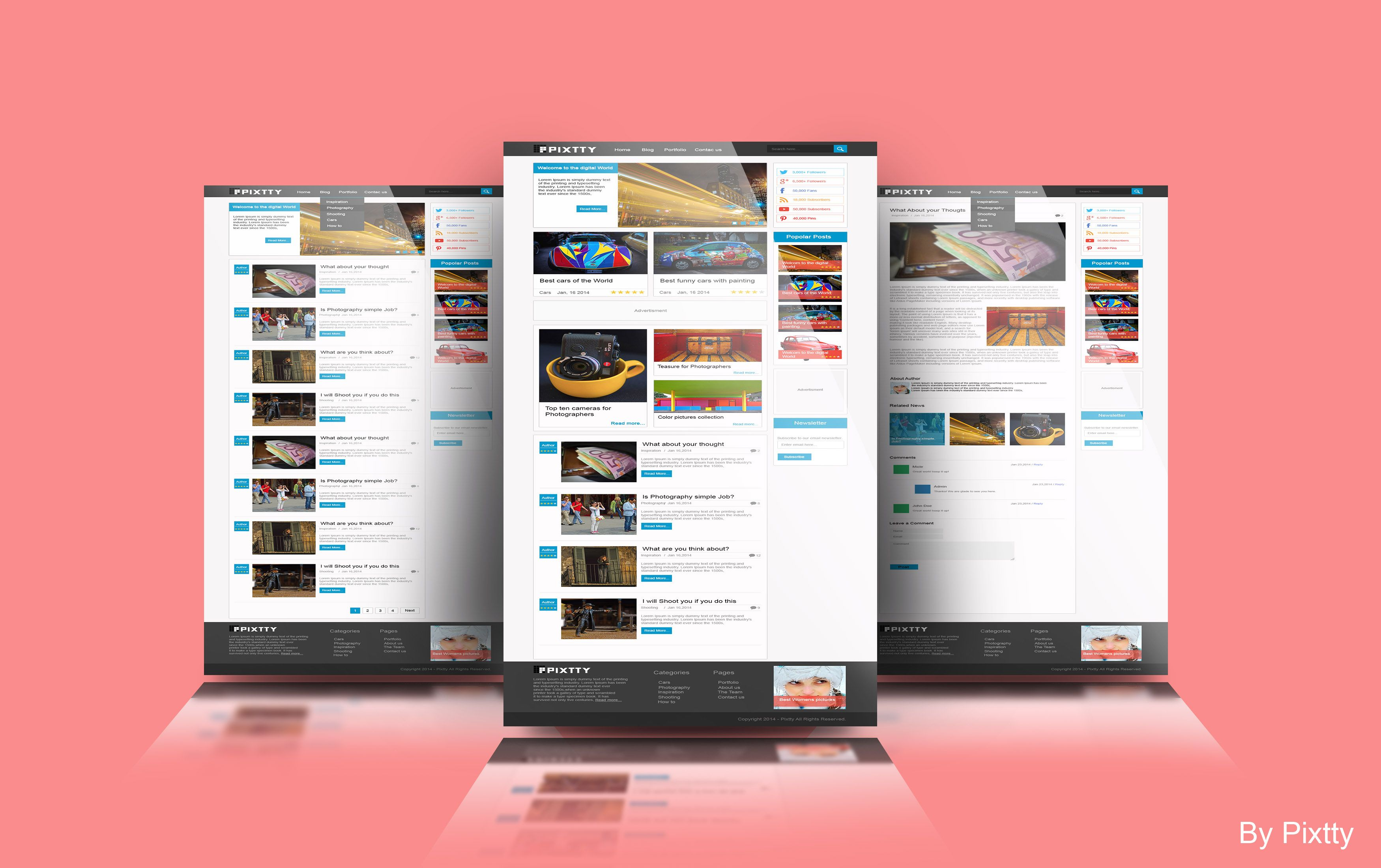 17 Best images about WebMockUp on Pinterest | Dead to me, Studios ...