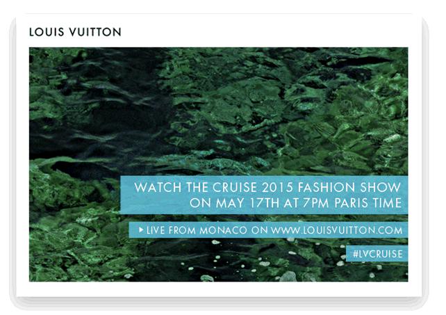 Louis Vuitton Cruise Collection @ Monaco